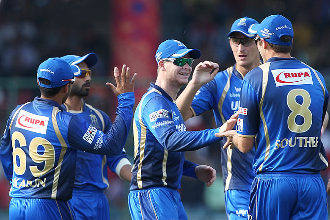 Rediff Cricket - Indian cricket - Can Rajasthan Royals maintain momentum against Mumbai?