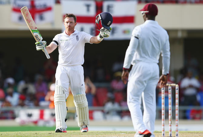 Rediff Cricket - Indian cricket - 1st Test PHOTOS: Bell, Root lead England fightback against Windies