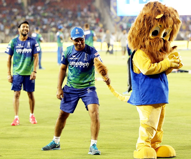 Rajasthan Royals player Rajat Bhatia