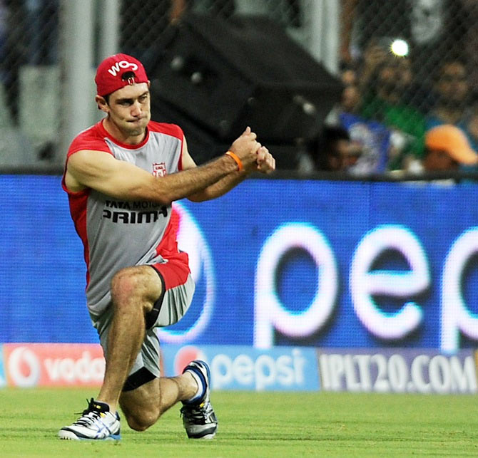 Glen Maxwell of Kings XI Punjab