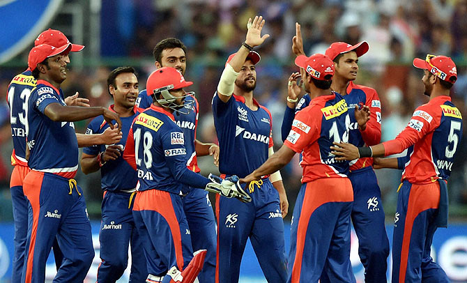 Rediff Cricket - Indian cricket - Delhi Daredevils look find footing against Mumbai Indians