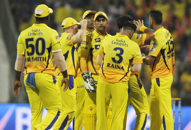 Insane! IPL team Chennai Super Kings valued at Rs 5 lakh ...  Chennai Super Kings Players