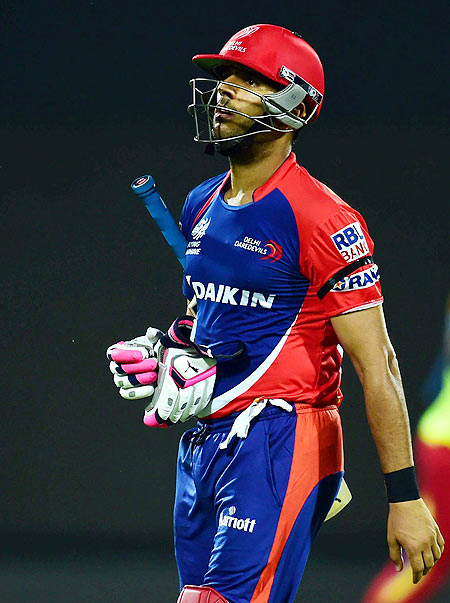 Rediff Sports - Cricket, Indian hockey, Tennis, Football, Chess, Golf - Why these players were released by the IPL franchises
