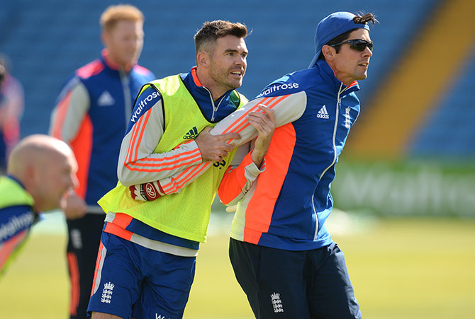 'It's disappointing as Jimmy's record at Trent Bridge is brilliant'