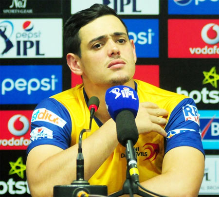 Rediff Cricket - Indian cricket - Why Quinton de Kock's absence will be 'big loss' for Delhi