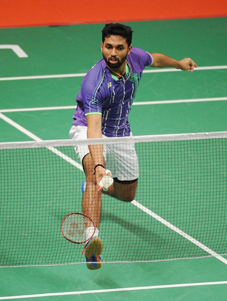 Rediff Sports - Cricket, Indian hockey, Tennis, Football, Chess, Golf - Swiss Open: Prannoy advances to quarterfinals