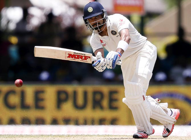 Rediff Sports - Cricket, Indian hockey, Tennis, Football, Chess, Golf - Stats: Captain Kohli on a Bradmanesque run with the bat!