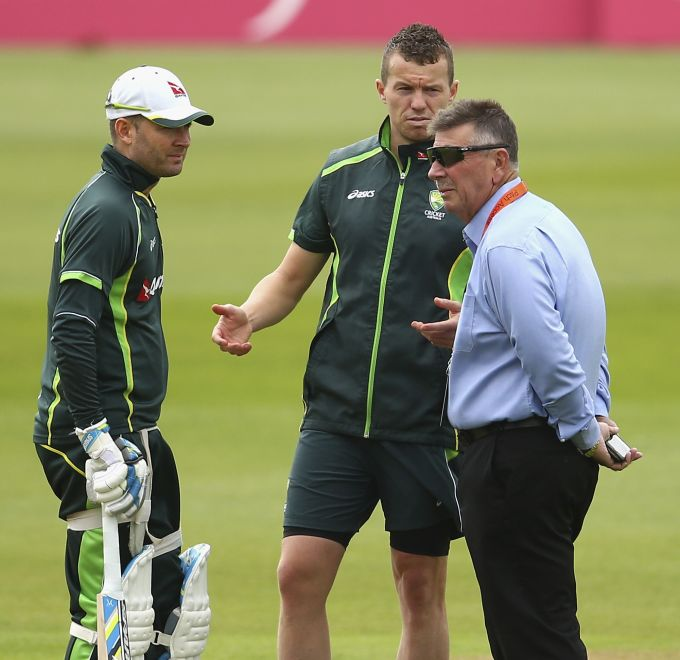 Did Rod Marsh insist on playing Siddle in Oval Test?