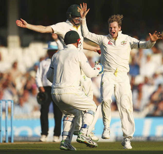 Ashes PHOTOS: Australia on brink of victory