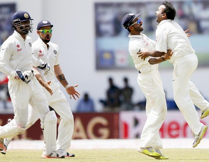 Rediff Sports - Cricket, Indian hockey, Tennis, Football, Chess, Golf - Stats: Record-breaker Ashwin continues golden run in SL