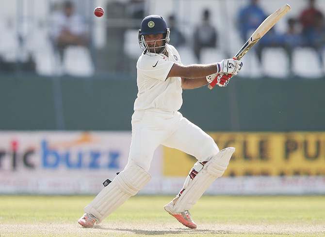 Rediff Cricket - Indian cricket - No Indian batsman in Top 10 of ICC Test rankings