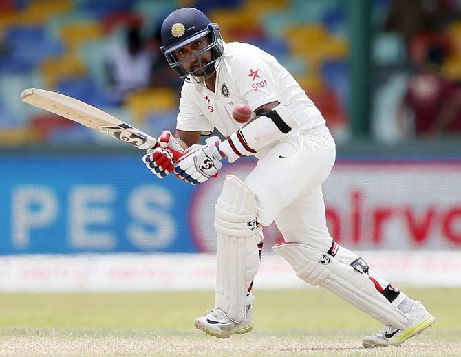 Rediff Sports - Cricket, Indian hockey, Tennis, Football, Chess, Golf - No 9 batsmen score a 50 in both innings for India