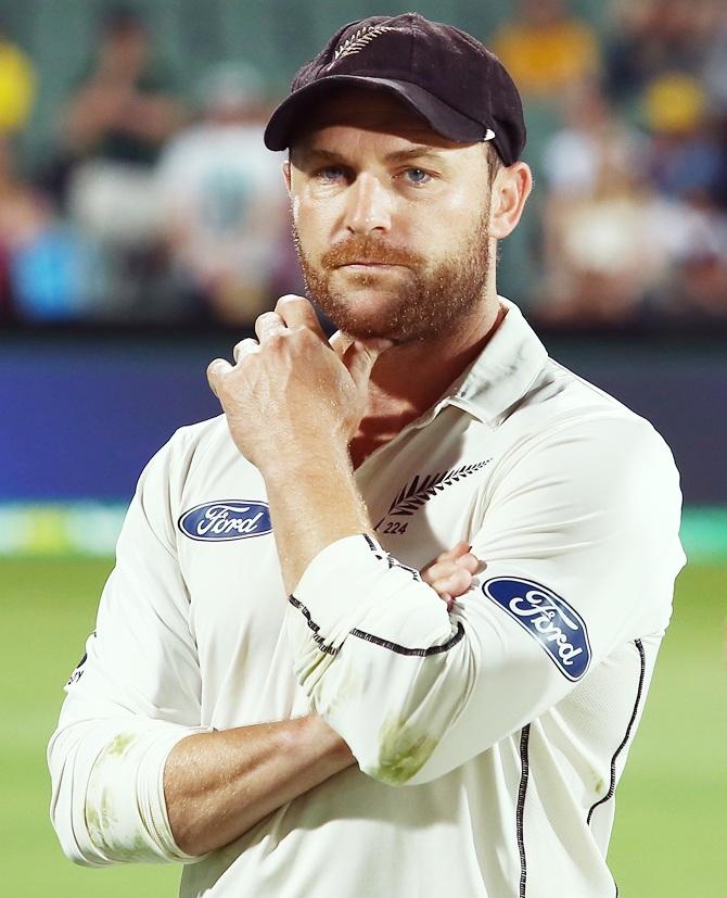 Rediff Sports - Cricket, Indian hockey, Tennis, Football, Chess, Golf - NZ Cricket back McCullum but Cairns calls him 'sad'