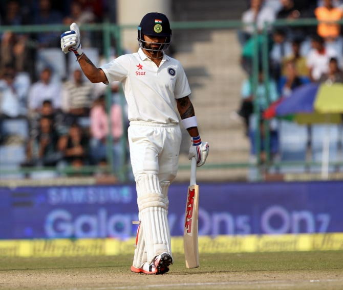 Rediff Sports - Cricket, Indian hockey, Tennis, Football, Chess, Golf - INTERESTING numbers from Day 3 of the Delhi Test