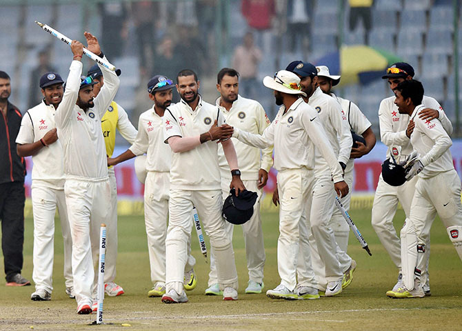 Rediff Sports - Cricket, Indian hockey, Tennis, Football, Chess, Golf - Number crunching: South Africa's record-breaking defiance, India's biggest win