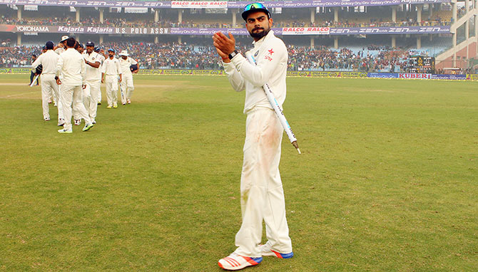 Rediff Sports - Cricket, Indian hockey, Tennis, Football, Chess, Golf - Kohli's team has bowling attack to win overseas: Sehwag