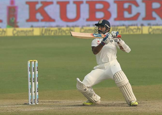 Rediff Sports - Cricket, Indian hockey, Tennis, Football, Chess, Golf - Rahane becomes India's highest-ranked Test batsman