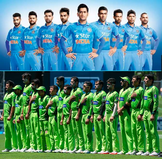 India Pakistan Tie Team That Handles Pressure Well Will Win