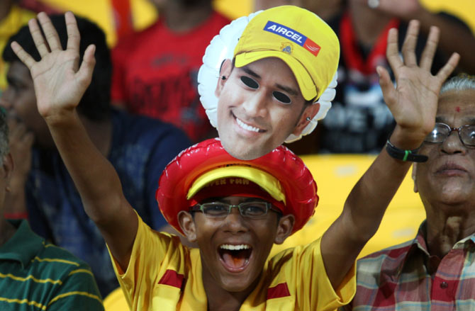 Chennai, Pune back as IPL venues for 2015