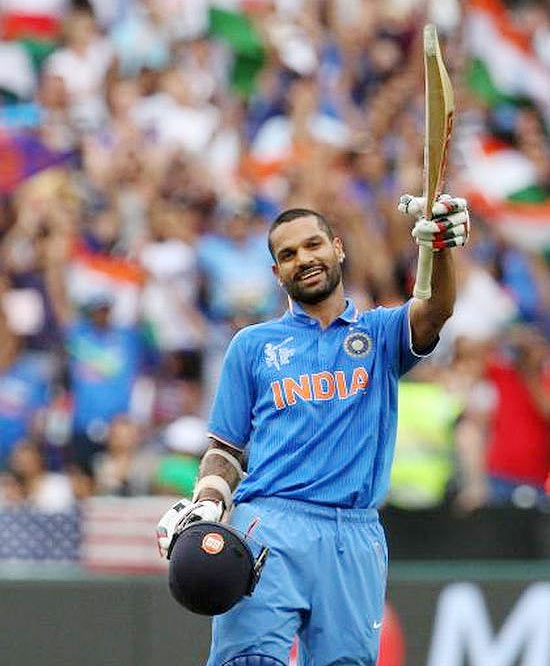 Rediff Cricket - Indian cricket - Here's what Dhawan's dad, coach think of his return to form...