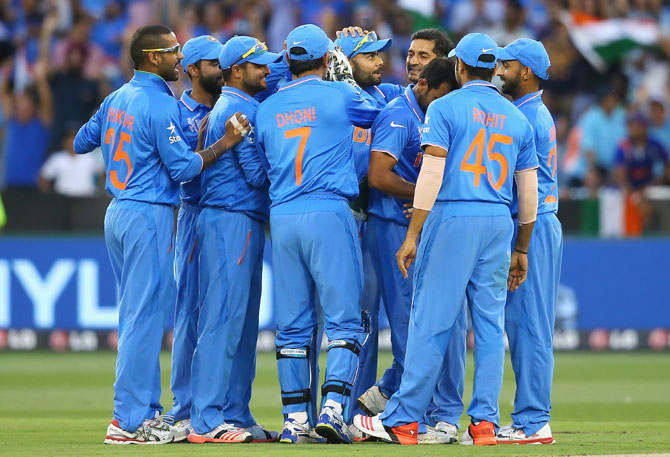 Rediff Cricket - Indian cricket - 'Team India has made sure of at least a semi-final placing'