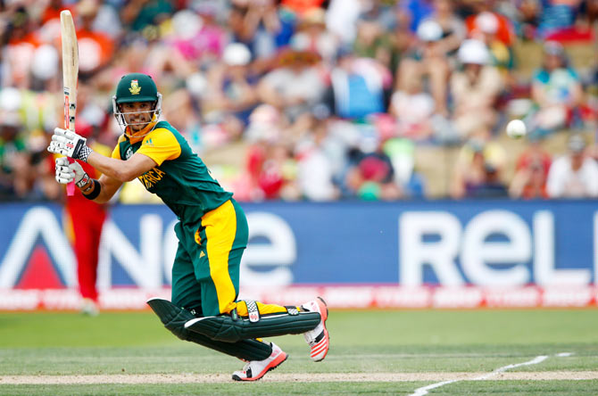 Rediff Sports - Cricket, Indian hockey, Tennis, Football, Chess, Golf - Duminy stands in as skipper of South Africa T20 team