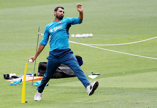 Rediff Cricket - Indian cricket - 4th Test: Shami, Shreyas Iyer included in team