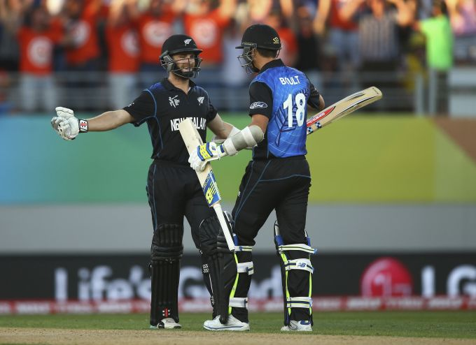 Rediff Cricket - Indian cricket - Williamson six gives Kiwis one wicket victory