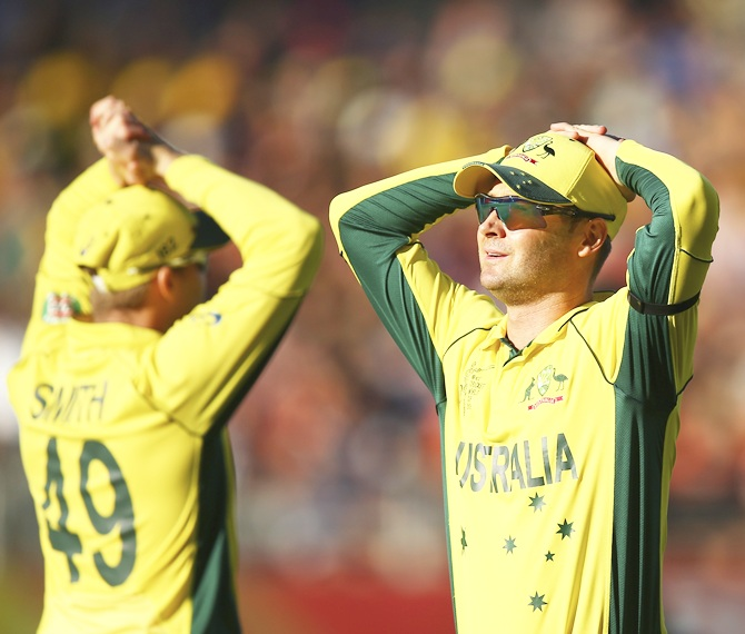 Rediff Cricket - Indian cricket - We were extremely poor, says Clarke