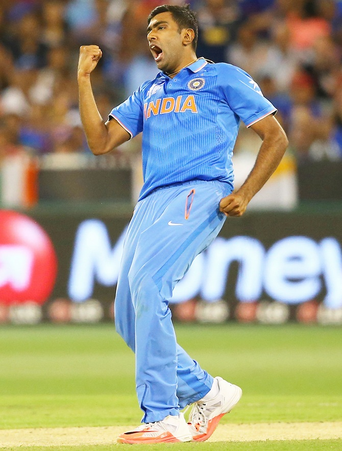 Rediff Cricket - Indian cricket - Stats: Ashwin spins his way to new highs