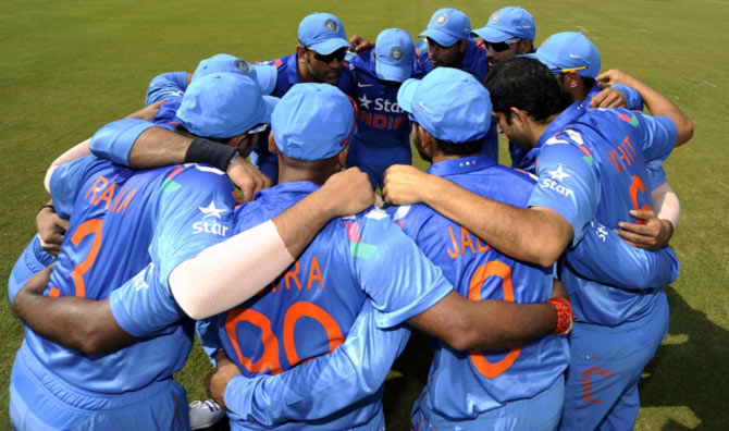 Rediff Sports - Cricket, Indian hockey, Tennis, Football, Chess, Golf - Meet India's 15-member World Cup squad