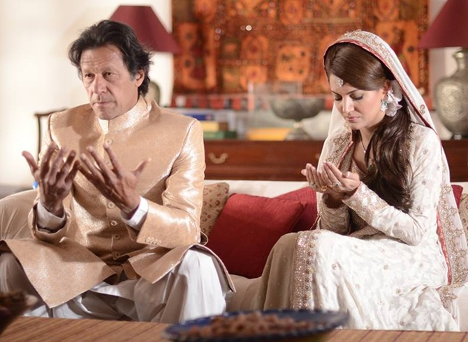 Image result for imran khan pakistan wife