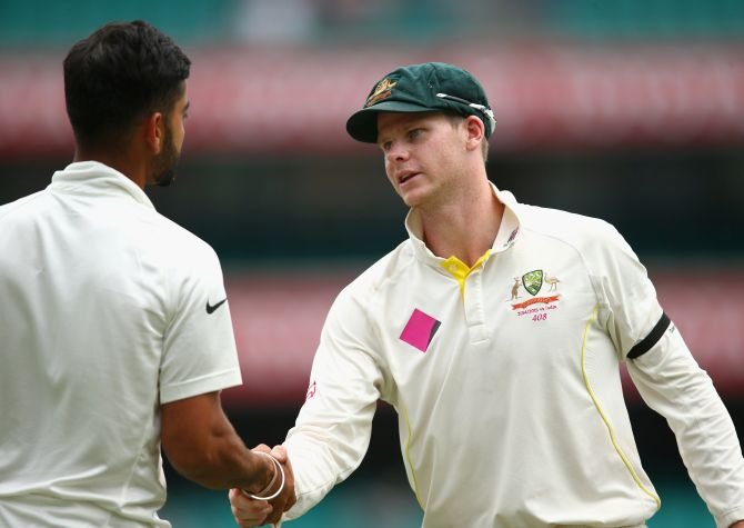 Rediff Cricket - Indian cricket - With focus on sweeping Pakistan, Aus captain not thinking of India yet