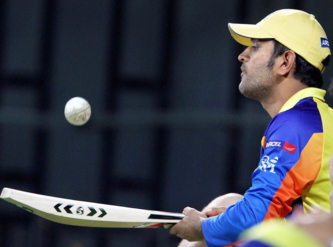 Dhoni breaks his silence on IPL scam