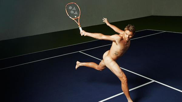 Rediff Sports - Cricket, Indian hockey, Tennis, Football, Chess, Golf - Wawrinka gets mixed reviews for 'challenging' photoshoot