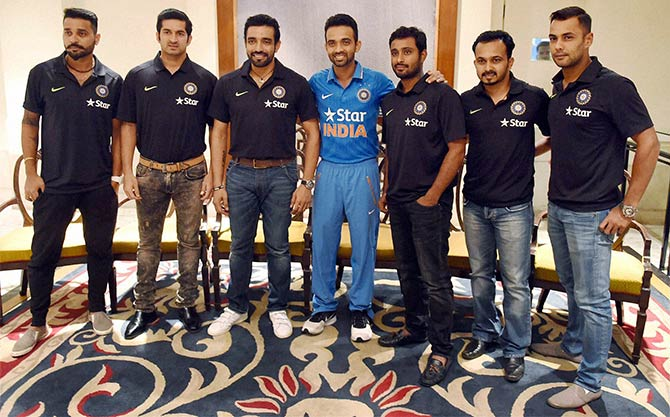 Rediff Cricket - Indian cricket - Zimbabwe-bound Rahane 'looking for consistency in ODIs'