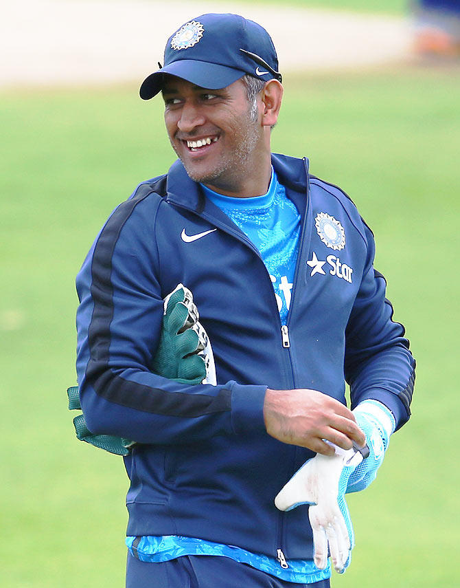 Rediff Cricket - Indian cricket - 'Captain cool' Dhoni turns 34. Wish him!