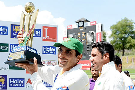 Rediff Cricket - Indian cricket - Pakistan shoot to third in Test rankings; India drop to fifth
