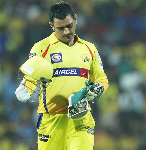 Image: Chennai Super Kings captain Mahendra Singh Dhoni  Photograph: BCCI