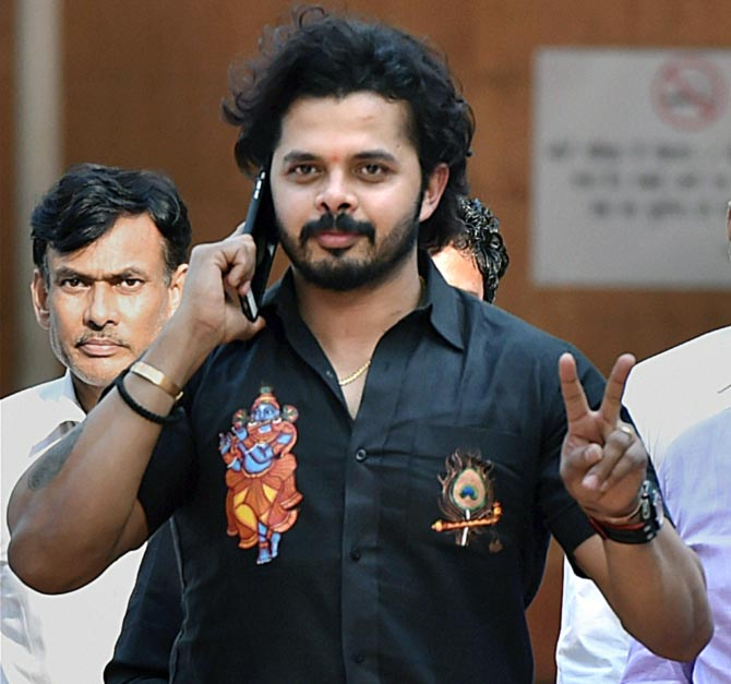 Rediff Cricket - Indian cricket - Can't wait to start my cricketing career again: Sreesanth