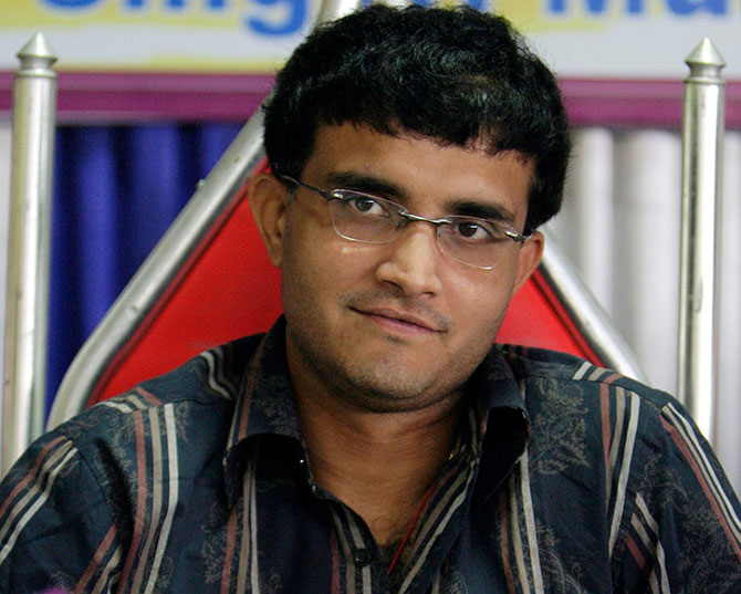 Rediff Cricket - Indian cricket - 'Sourav Ganguly has been one of the greatest captains of India'