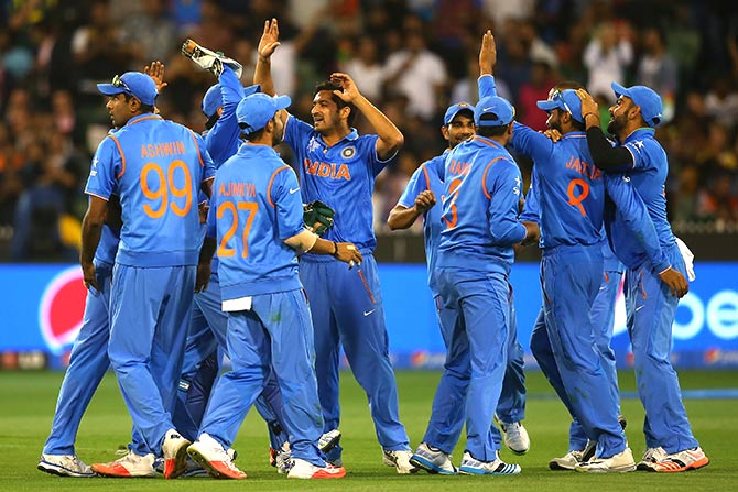 Rediff Cricket - Indian cricket - 'Team India looked good as a bowling unit in the World Cup'