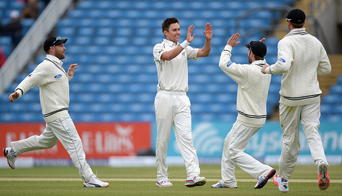 Rediff Sports - Cricket, Indian hockey, Tennis, Football, Chess, Golf - Headingley Test: Ruthless New Zealand complete emphatic win
