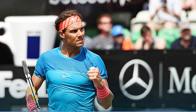 Rediff Sports - Cricket, Indian hockey, Tennis, Football, Chess, Golf - Publish all my drug test results, Nadal tells ITF