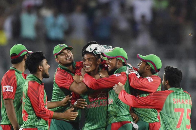 Rediff Sports - Cricket, Indian hockey, Tennis, Football, Chess, Golf - Mirpur ODI Stats: Man of the Moment! Mustafizur Rahman