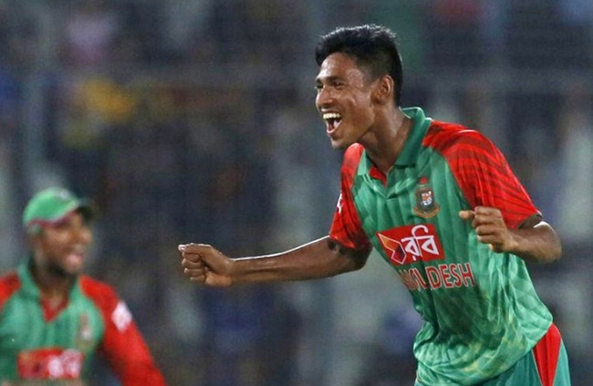 Rediff Cricket - Indian cricket - Hail Bangladesh's bowling sensation Mustafizur... the new MVP!