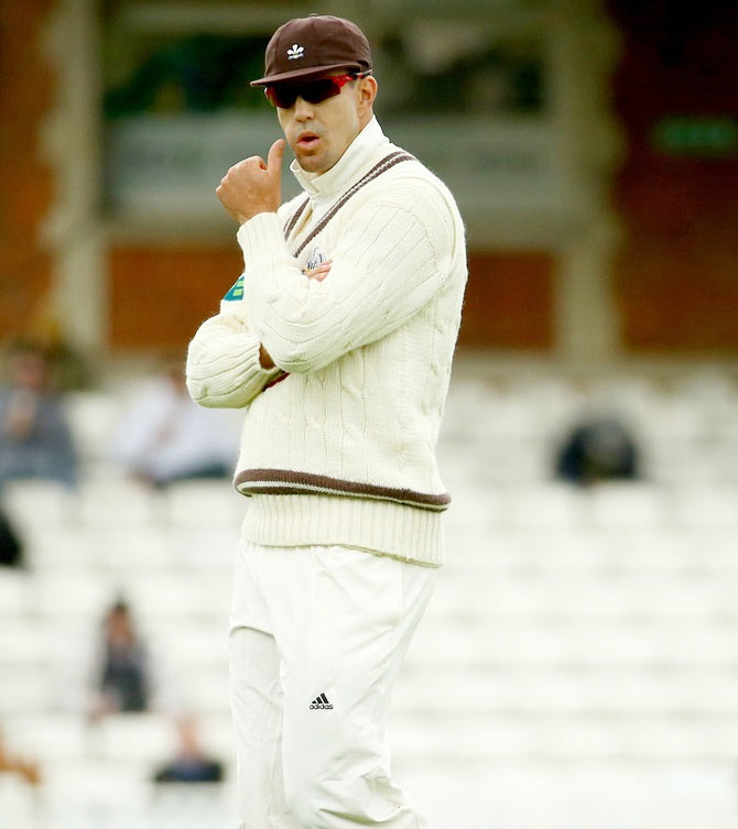 Rediff Sports - Cricket, Indian hockey, Tennis, Football, Chess, Golf - England's coach Bayliss expresses ignorance over KP's Ashes omission