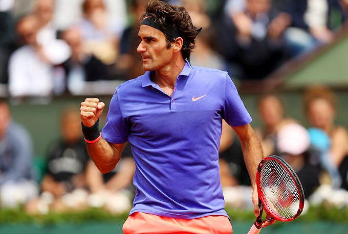 Rediff Sports - Cricket, Indian hockey, Tennis, Football, Chess, Golf - New racquet-wielding Federer says never felt better before Wimbledon