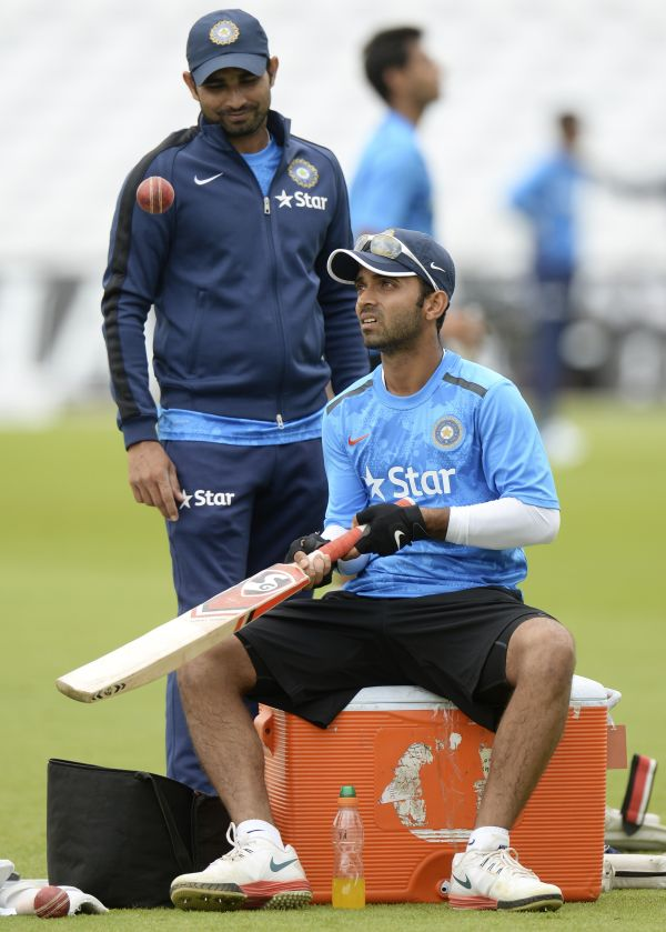 Rediff Sports - Cricket, Indian hockey, Tennis, Football, Chess, Golf - Selectors 'want to see Rahane's other aspects', vow to back him