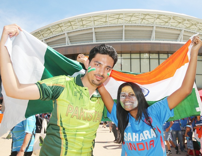 Rediff Cricket - Indian cricket - 'Atmosphere not right for Indo-Pak cricket'